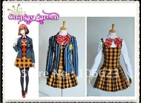 Wholesale Freeshipping Hot Selling Cheap Newest Halloween Cosplay Costume C4510 Uta no Prince-Sama NANAMI HARUKA girl uniform