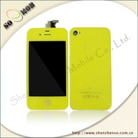 LCD&digitizer and back cover assmbly for iphone4 4G