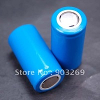 Mail Free + 2PCs/Lot 25500 Battery 3.7V 5000 mAh Rechargeable Li-ion Electric Tools Energy Storage LED Lamp Battery