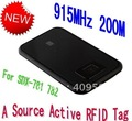 200meters 915MHZ  Source Active RFID Tags SDX-702 Free shipping
