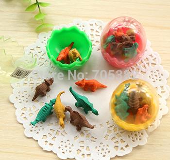 Cute dinosaur egg eraser,Funny  pencil rubber with Wholesale Price, Cartoon eraser(ss-676)