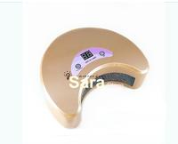 Free shipping salon express1x  220-240V 18 Watts Professional LED UV Gel Curing Lamp/ Uv Gel Lamp