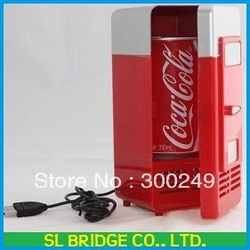 free shipping wholesale hot icebox,USB fridge,New Cool &amp; Warm Freezer For ,Mini Refrigeator.Icebox High quality G11370SL(China (Mainland))