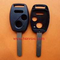 High Quality Hot-selling 2+1 button remote key blank for Hda no chip groove place with free shipping 60%