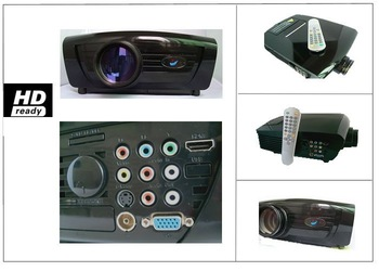 Hot sell!   DG-737 video games, Wii, computer,DVD movie,TV,lcd projector,entertainment projector