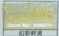 Fine 1/128 Glitter, AB light yellow, 1kg/lot