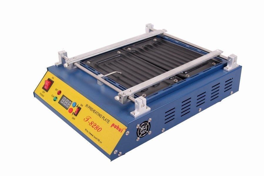 Cheap PUHUI T-8280 IR Infrared Rework BGA Station T8280 Preheating Preheating Oven(China (Mainland))