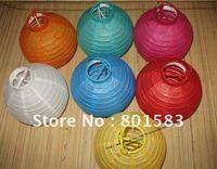 10 pcs /lot , wholesale free ship chinese battery paper lanterns ,8 inch size,room decration , 20 cm!