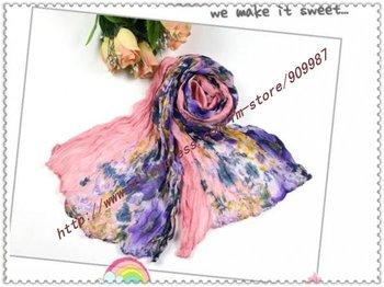 factory price.women's cotton scarves.pretty shawls.silk pashmina shawls.fashion scarfs.12colors.20pcs/lot.