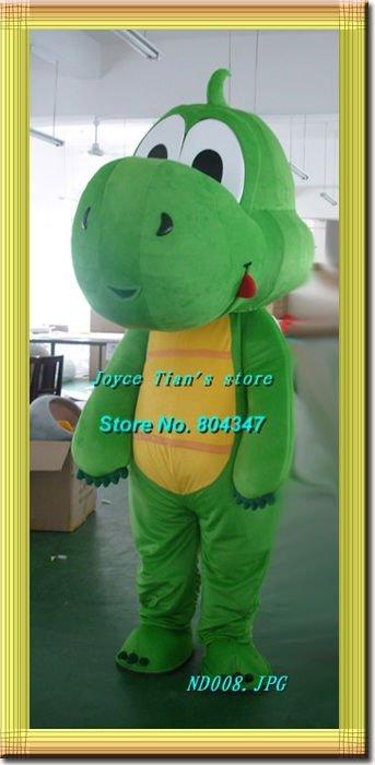 Newest Arrive Dragon Costume barney costume Mascot Costume Cartoon Mascot Character Costume Free Shipping(China (Mainland))
