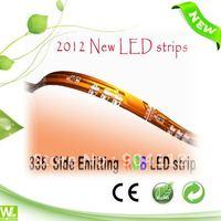 335 side emitting RGB LED strip (waterproof IP54)