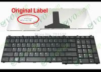 New Laptop keyboard for Toshiba Satellite C650 C655 C655D C660 L650 L655 L670 L675 L750 L755 Black US Version  - MP-09N13US-698