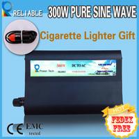 Reliable quality Cigarrette Lighter Gift 300W Pure Sine Wave Car Inverter Car Power Inverter