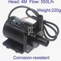 K106A 550L/h 5V-12V DC Mini Corrosion-Resistant Brushless Pump