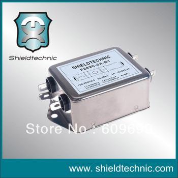 F202E-10A-A4 AC socke low pass power EMI  filter