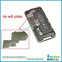 Wifi plate cover for iphone 4s antenna cover,original new,free shipping,wholesale or retail on the aliexpress