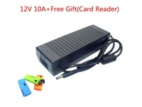 FREE SHIPPING! 12V 10A 120W Power Adapter, LED Power Supply, table-on type, 100-240V AC input 1pcs/lot