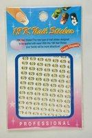 50sets Metal Nail Stickers Set Nail Art Decals (random) 3D nail sticker  - Free Shipping