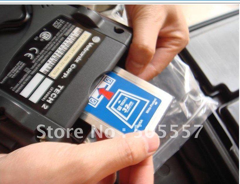 Full set diagnostic tool gm tech2 with 32MB card(Spanish version)(Hong Kong)