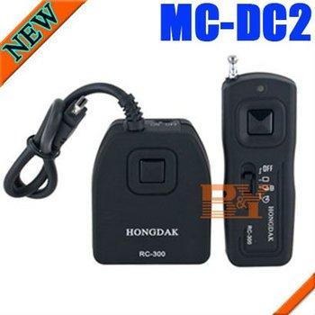 HONGDAK Wireless Remote Control Shutter For Nikon DSLR D90 D3100 MC-DC2 Free Shipping