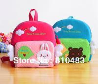 Free shipping wholesale10pcs/lot Cartoon School Backpack bag for children 23*24.5*7cm