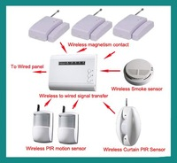 Package of expanded wireless sensors for professional business & home security system alarm systems wholesale