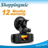 2012 Car DVR Recorder with GPS Logger + H.264 + Full HD 1920*1080P + 4 LED Lights + Wide Angle 120 Degrees Free shipping