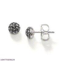 Wholesale Round ear studs  Earrings , 925 silver jewelry,925 Sterling Silver Earrings wholesale jewelry