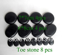 hot sell Massage stones massage lava Natural Energy massage stone set hot spa rock basalt stone 16pcs