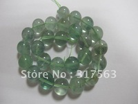 Green Flourite Natural Gemstone12 mm Round Fashion Jewelry Beads 40 cm/strand.Free shipping!!