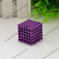 Wholesale! Best Selling! tin package/size: 5mm 216pcs/set Buckyballs,Neocube,Magnetic Balls/ color:pure Free shipping