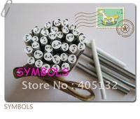 e-17 Free Shipping 100pcs 5mm Panda Shape Clay Cane Fancy Nail Art Polymer Clay Cane