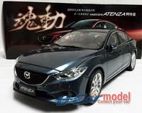 1 pcs/lot  1:18 MAZDA ATENZA 2014  Die-cast Car Model (Blue) New Arrival