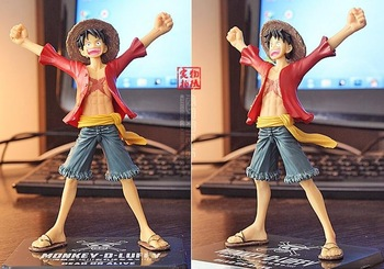 One piece luffy 2 years later verson PVC action figure ,japanese figurines anime 16cm