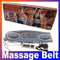 New Arrival Sauna Massage Velform Professional Slimming Belt 110v /220V Body Massager As Seen On TV Free Shipping