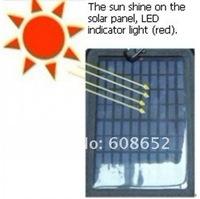 The solar cell backpacks LED solar cell lighting
