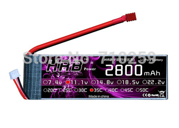 11.1v 2800MAH 35C LIPO 3s 11.1 VOLT RC AKKU BATTERY for airplanes