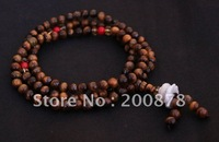 BRO847   Buddhist 108 beads Tiger Eye Meditation Mala,5mm,natural stone girl beaded bracelet,low MOQ