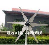 HOT selling!300W 400W 600W 12v/24v AC/DC small wind generator(CP-WG-300W)
