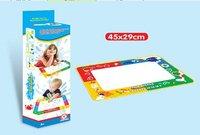 Promotion!Free shipping 5pcs/lots 45*29cm Drawing Mat&1 Magic Pen/Water Drawing Replacement Mat