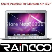 "10pcs/lot free shipping for macbook air 13.3"" screen cover, for macbook air 13.3"" screen protector, OPP bag packing"