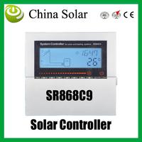 Split and pressurized solar heating system Controller,SR868C9,Solar Auxiliary heating system control
