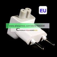 Eu plug compatible Interchange AC Adapter Plug (European) 500pcs  free shipipng by dhl