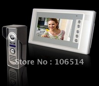 "Freeshipping 7"" TFT Color Video Door phone wholesale/retail  manufacturer with one year warranty"