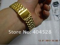 Freeshipping---Men/women F#91#W  watches f#91#  fashion thin LED watches sports watch A#159#W Gold, Silver