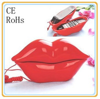 fashion amazing lip telephone  mouth shape telephone funny telephone set