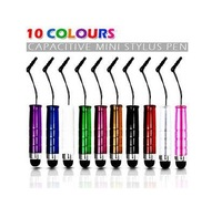 100pcs/lot Touch Screen Stylus Pen for Ipad Ipod Iphone 4 4S 3gs 4s Motorola Xoom Samsung Galaxy Tab free shipping