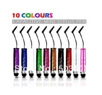 1000pcs/lot Touch Pen Stylus for iPad 2 Ipod Iphone 4 4S 3gs 4s Motorola Xoom Samsung Galaxy Tab free shipping
