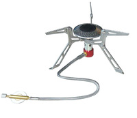 Portable Outdoor Picnic Gas Burner Foldable Camping Mini Steel Stove Case New free shipping