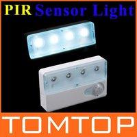 Infrared PIR Auto LED Sensor Light Motion Detector Lamp free shipping